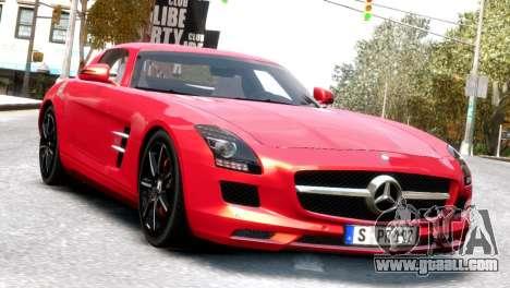 Mercedes-Benz SLS AMG 2011 [EPM] for GTA 4