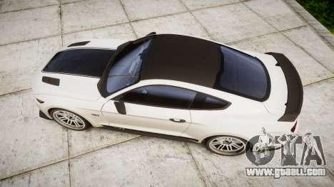 Ford Mustang GT 2015 Custom Kit black stripes gt for GTA 4 right view