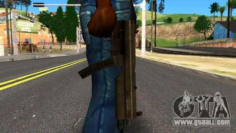 MP5 from GTA 4 for GTA San Andreas third screenshot