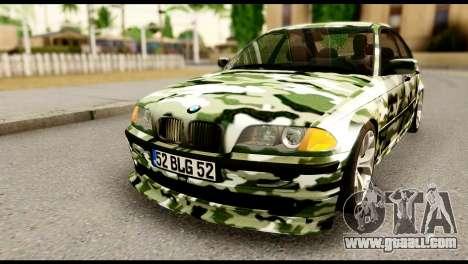 BMW M3 E46 TSK for GTA San Andreas