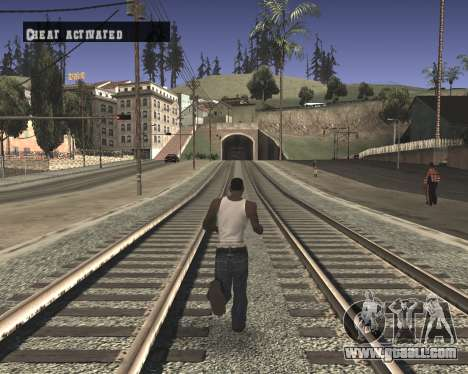 Colormod High Black for GTA San Andreas