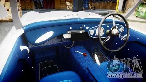 Austin-Healey 100 1959 for GTA 4 back view