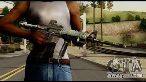 SOPMOD from Metal Gear Solid v3 for GTA San Andreas third screenshot