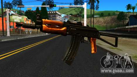 Bright AKS-74U v1 for GTA San Andreas