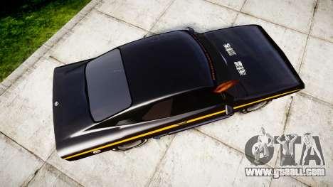 Opel Manta A Black Magic for GTA 4 right view