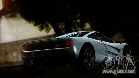 McLaren F1 Autovista for GTA San Andreas left view
