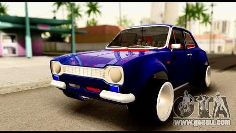 Ford Escort MK1 Modifive for GTA San Andreas