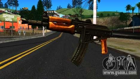 Bright AKS-74U v2 for GTA San Andreas
