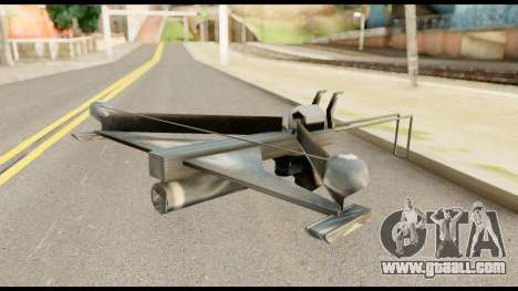 Fear Crossbow from Metal Gear Solid for GTA San Andreas