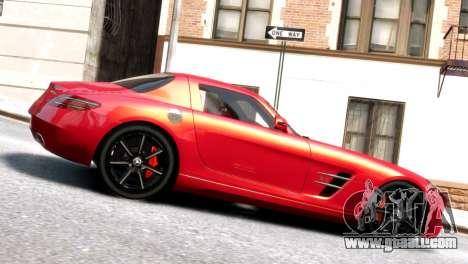 Mercedes-Benz SLS AMG 2011 [EPM] for GTA 4 left view