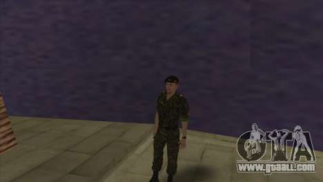 The marine Corps of the armed forces for GTA San Andreas sixth screenshot