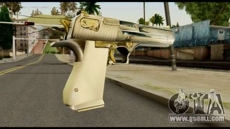 Desert Eagle from Max Payne for GTA San Andreas