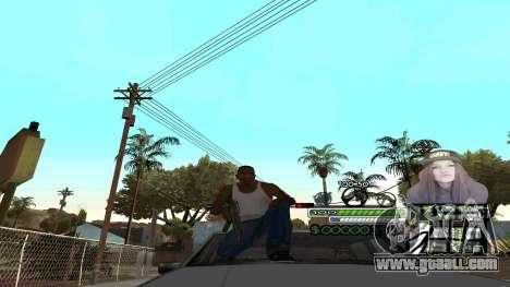 C-HUD Obey for GTA San Andreas second screenshot