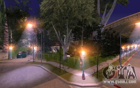 New Grove Street 50 for GTA San Andreas fifth screenshot