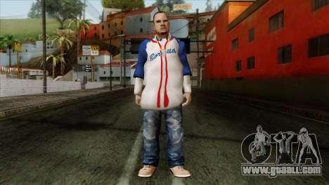GTA 4 Skin 20 for GTA San Andreas