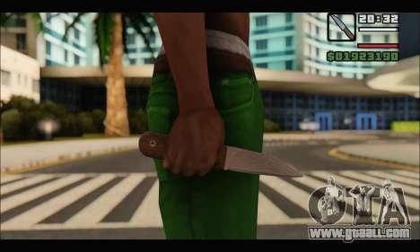 Knife Romanian CR1 for GTA San Andreas second screenshot