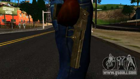 Desert Eagle from GTA 4 for GTA San Andreas third screenshot
