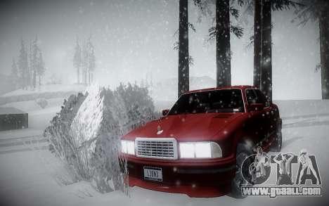 Winter ENBSeries for GTA San Andreas second screenshot