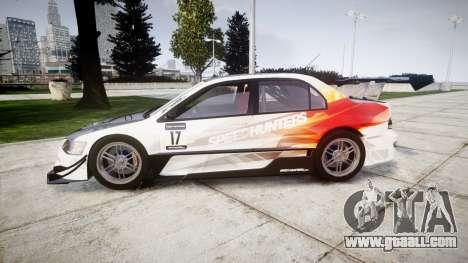 Mitsubishi Lancer Evolution IX HQ for GTA 4 left view