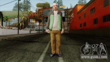 GTA 4 Skin 60 for GTA San Andreas