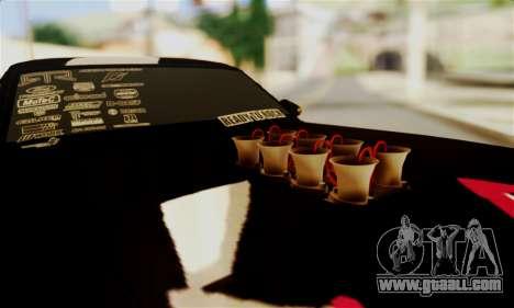 Ford Mustang RTR RedBull for GTA San Andreas inner view