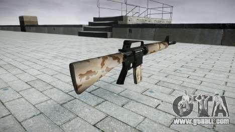 The M16A2 rifle sahara for GTA 4 second screenshot