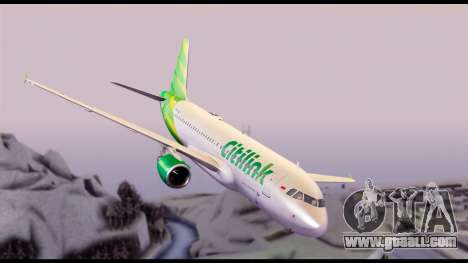 Citilink Airbus A320 PK-GLV for GTA San Andreas