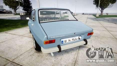 Dacia 1300 v2.0 for GTA 4 back left view