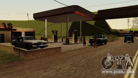 Recovery stations San Fierro Country for GTA San Andreas