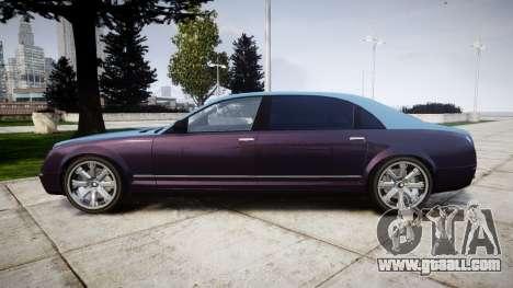 Enus Cognoscenti VIP for GTA 4 left view