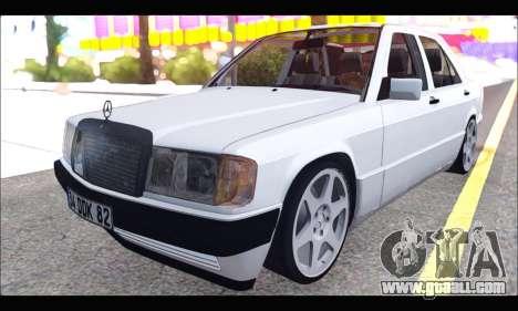 Mercedes Bad-Benz 190E (34 DDK 82) for GTA San Andreas