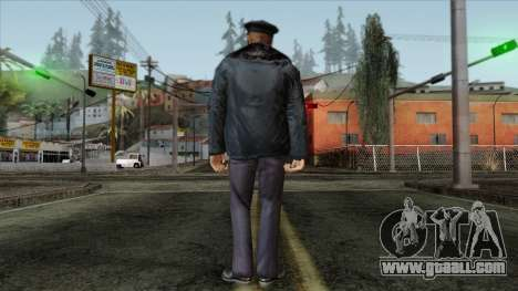 Police Skin 11 for GTA San Andreas second screenshot