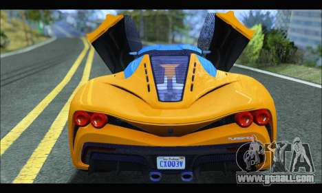 Grotti Turismo R v2 (GTA V) (IVF) for GTA San Andreas right view