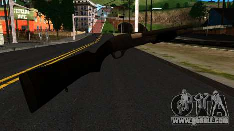Black MP-133 Without Gloss for GTA San Andreas second screenshot