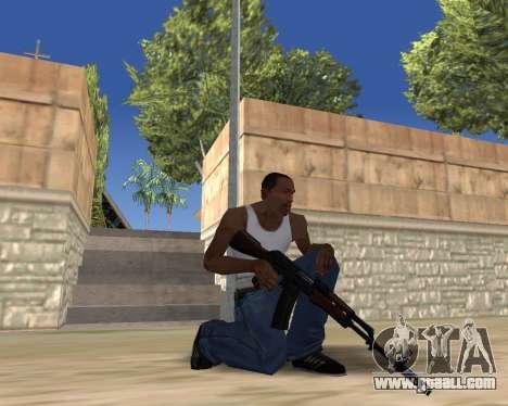 HD Weapon Pack for GTA San Andreas eighth screenshot