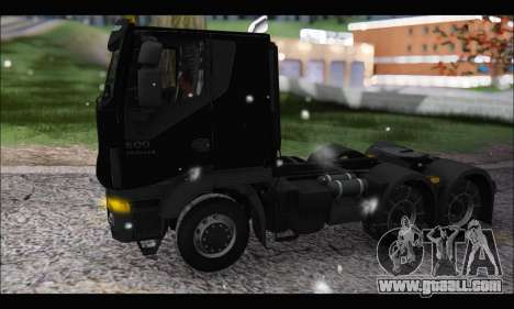 Iveco Trakker 2014 Snow (IVF & ADD) for GTA San Andreas left view