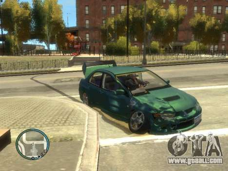 Big Car Damage for GTA 4 third screenshot