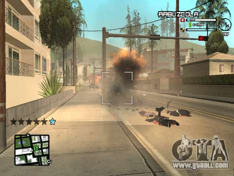 CLEO HUD by SampHack v.20 for GTA San Andreas forth screenshot