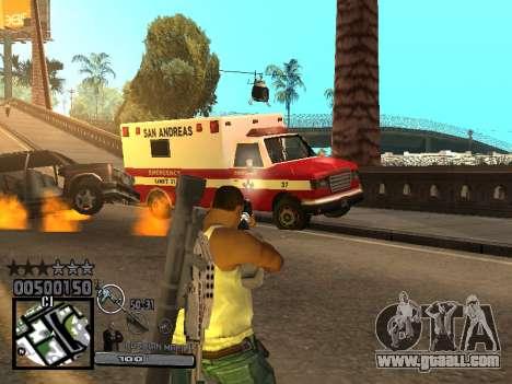 C-HUD Russian Mafia for GTA San Andreas forth screenshot