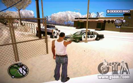 HUD GOSKA for GTA San Andreas