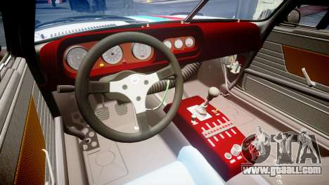 BMW 3.0 CSL Group4 for GTA 4 inner view