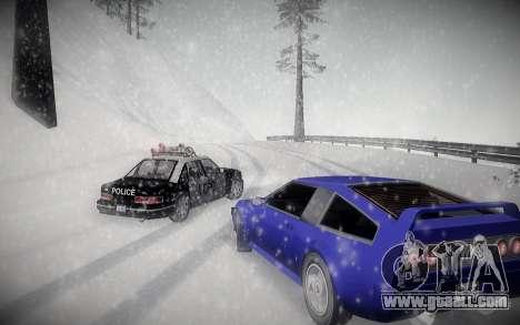 Winter ENBSeries for GTA San Andreas third screenshot