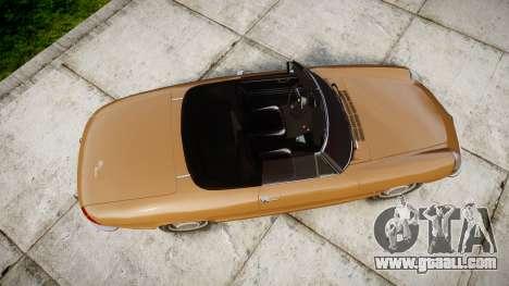Alfa Romeo Spider 1966 for GTA 4 right view