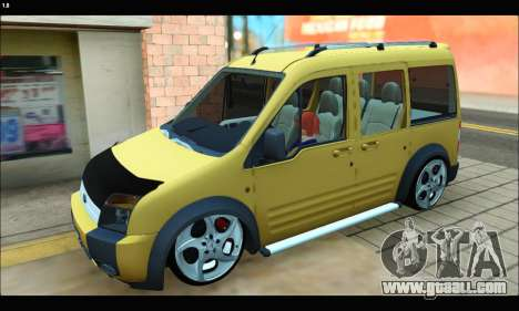 Ford Transit Connect for GTA San Andreas left view