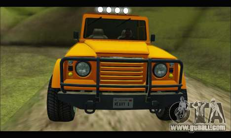 Canis Bodhi (GTA V) for GTA San Andreas left view