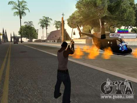 C-HUD Ghetto for GTA San Andreas forth screenshot