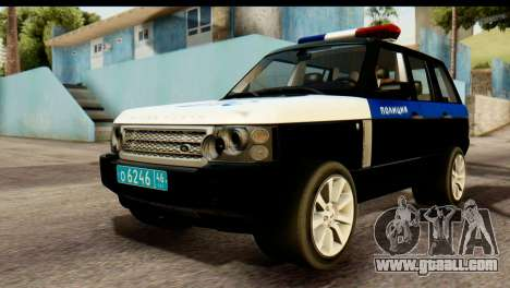 Land Rover ДПС for GTA San Andreas