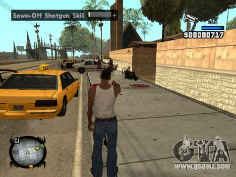 HUD by LMOKO for GTA San Andreas forth screenshot