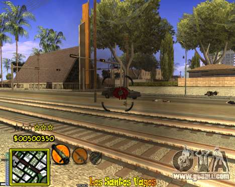 C-HUD Vagos Gang for GTA San Andreas forth screenshot