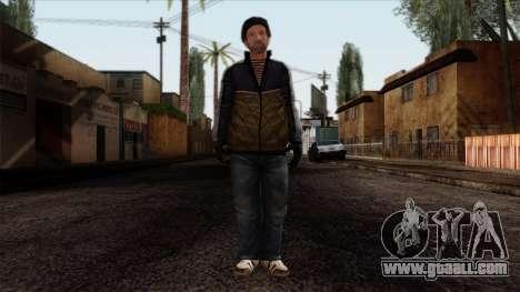 GTA 4 Skin 25 for GTA San Andreas